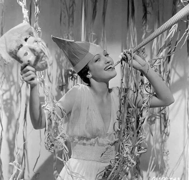 Hoodoo That Voodoo, hollyhocksandtulips: Dorothy Lamour, 1937   Vintage  happy new year, Dorothy lamour, Happy new
