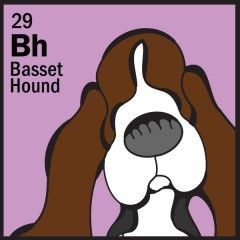 Basset MomHigh Quality Vinyl Basset Hound Dog Window Decal Sticker