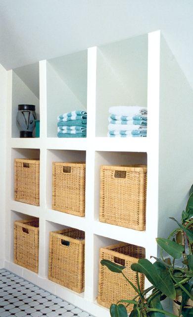 waschplatz l sungen f r b der unter dem dach dachschr ge porenbeton und waschtisch. Black Bedroom Furniture Sets. Home Design Ideas