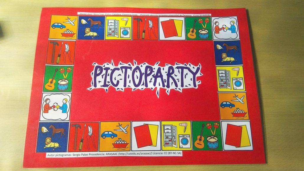 Juego Del Pictoparty Con Pictogramas Arasaac Juegos Juegos Deportivos Para Niños Juegos Caseros De Mesa