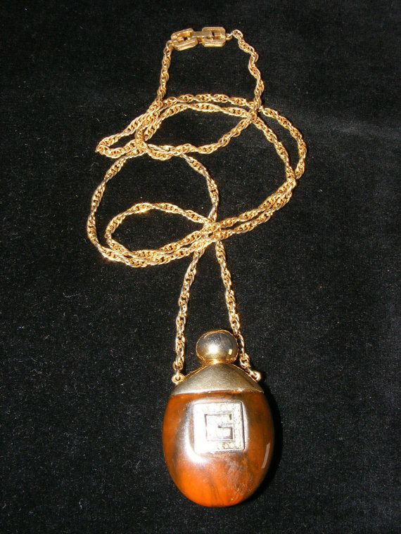 Vintage Givenchy Perfume Necklace! LOVE!