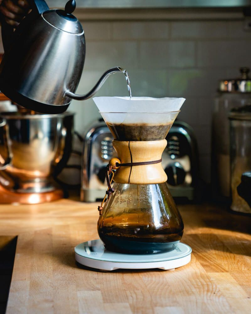 Coffee shop review for chattanooga tennessee chemex
