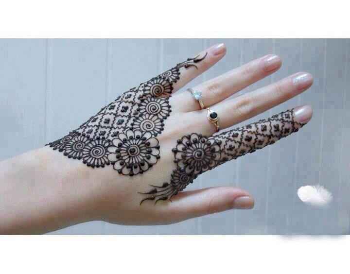 Mehndi Lace Tattoo : Beautiful lace henna design designs i like