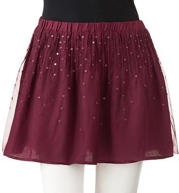 #Kohls                    #Skirt                    #Sequin #Tulle #Skirt     SO Sequin Tulle Skirt                               http://www.seapai.com/product.aspx?PID=44143