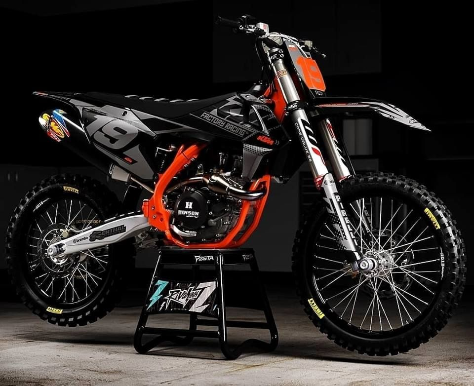 Color Bechmark Motorcross Bike Ktm Motocross Ktm Dirt Bikes