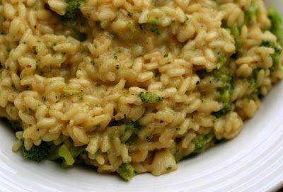 Vegan Broccoli Risotto