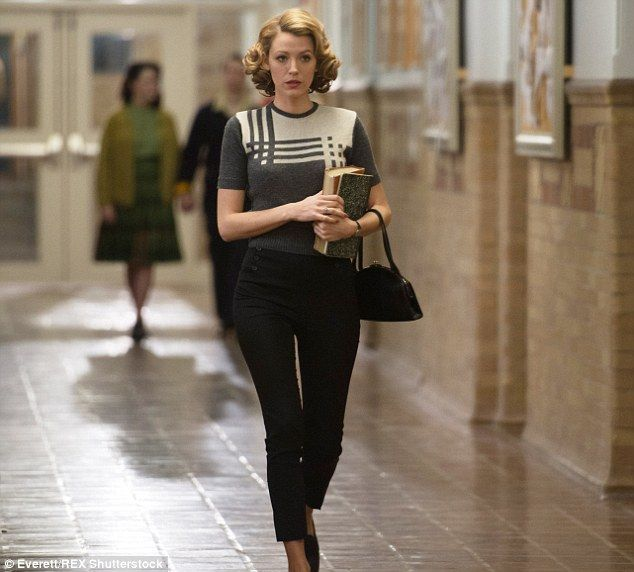 Coming soon: Blake plays a woman who maintains the youthful appearance of a 29-year-old for eight decades in The Age Of Adaline, which hits cinemas on Friday