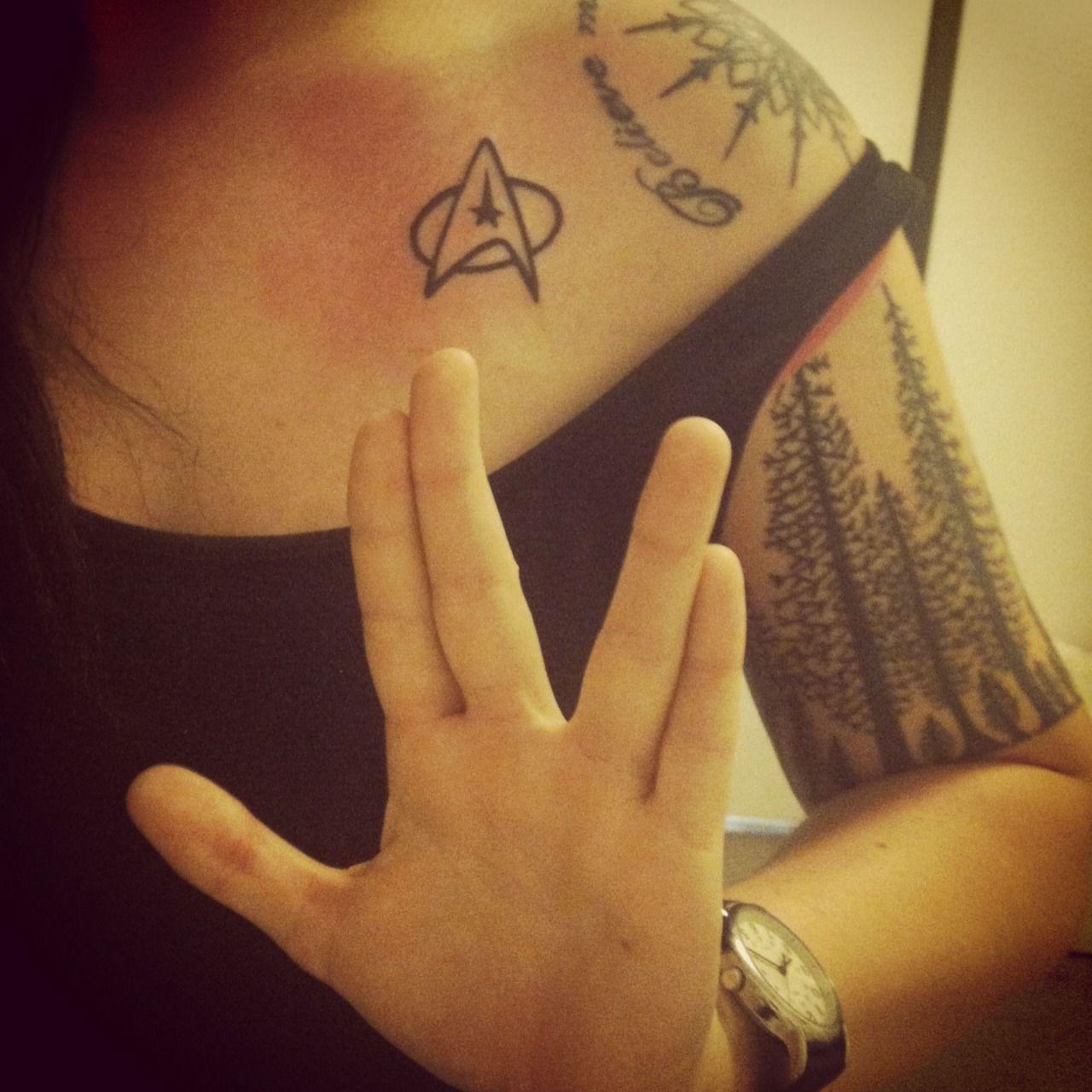 Pin by audrey on tats star trek tattoo cool tattoos