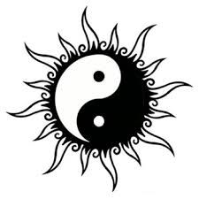 In Chinese philosophy, the concept of yin yang, normally referred to in the West as (yin and yang) is used to describe how polar or seemingly contrary forces are interconnected and interdependent in the natural world, and how they give rise to each other in turn. Opposites thus only exist in relation to each other.