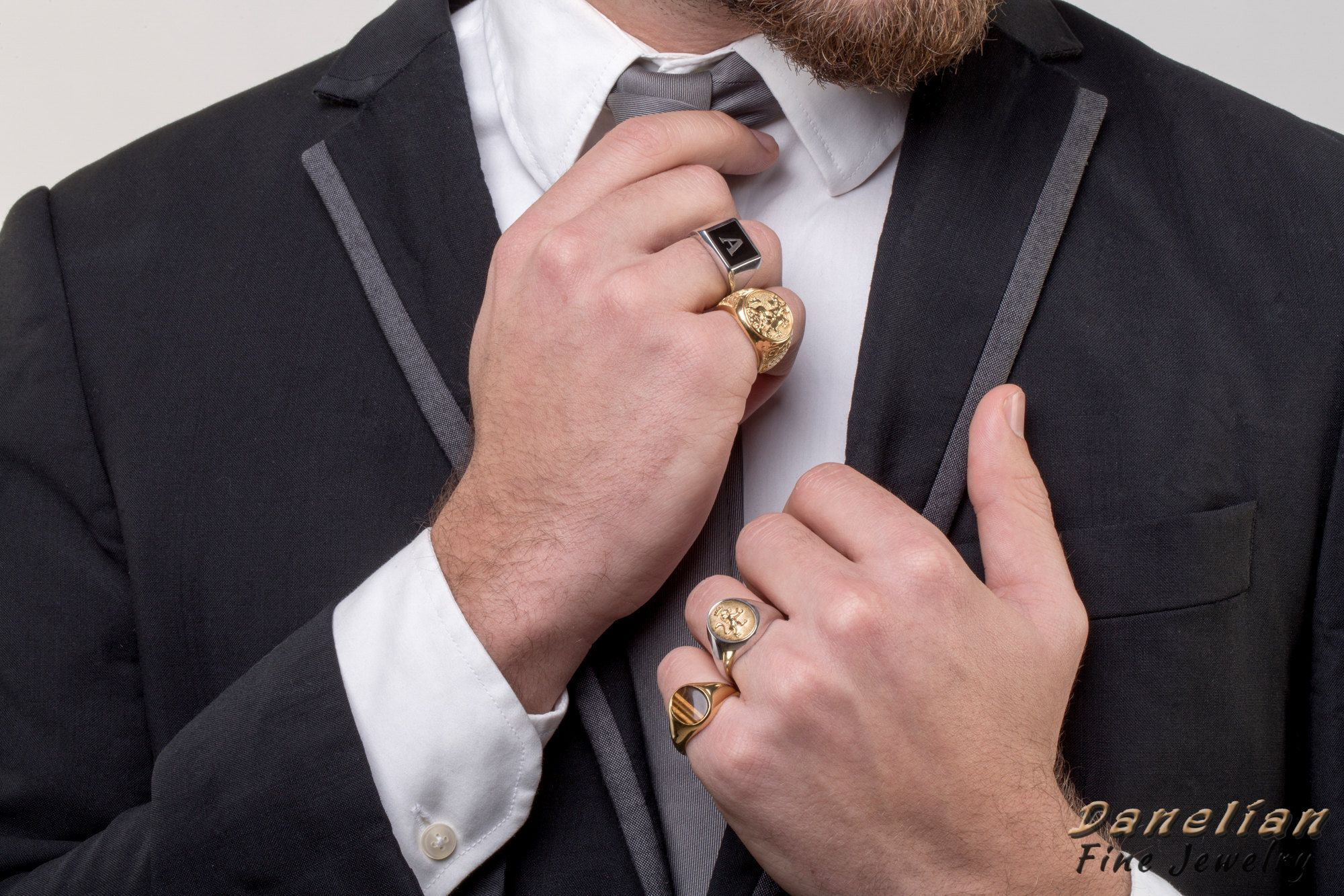 Exclusive 2018 Man Rings / Sovereign & Statement Jewelry created ...