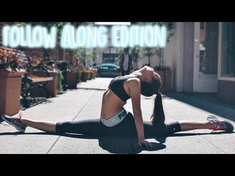 beginner's stretching routine  follow along  youtube