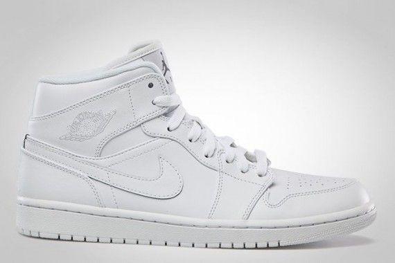 Air Jordan 1 Mid - Tonal Black + White | January 2013 - SneakerNews.com