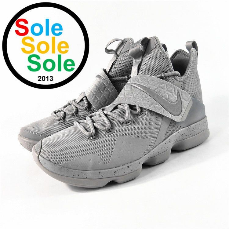 dc07e70086a2 Nike LeBron XIV 14 Cool Gray 852405 007 Size 9.5  fashion  clothing  shoes   accessories  mensshoes  athleticshoes (ebay link)