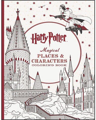 Readerlink Harry Potter Magical Places & Characters Coloring Book ...