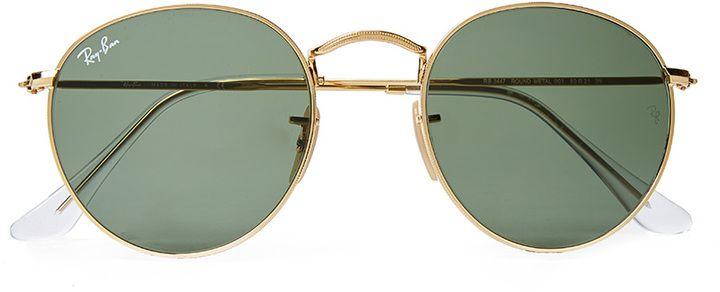 RayBan Round Metal Sunglasses Large RB3447 001 (121