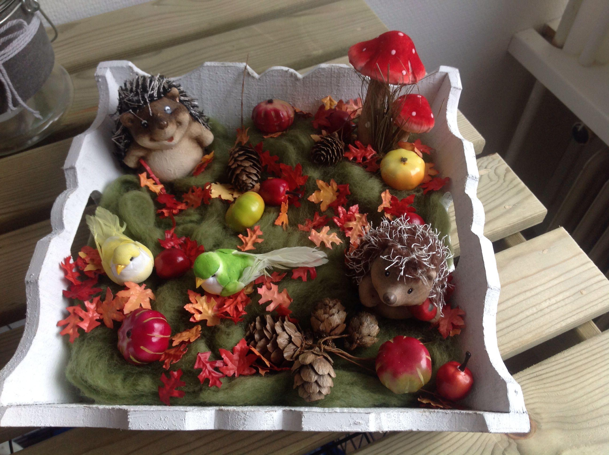 Herfst decoratie spullen tjes van xenos deko