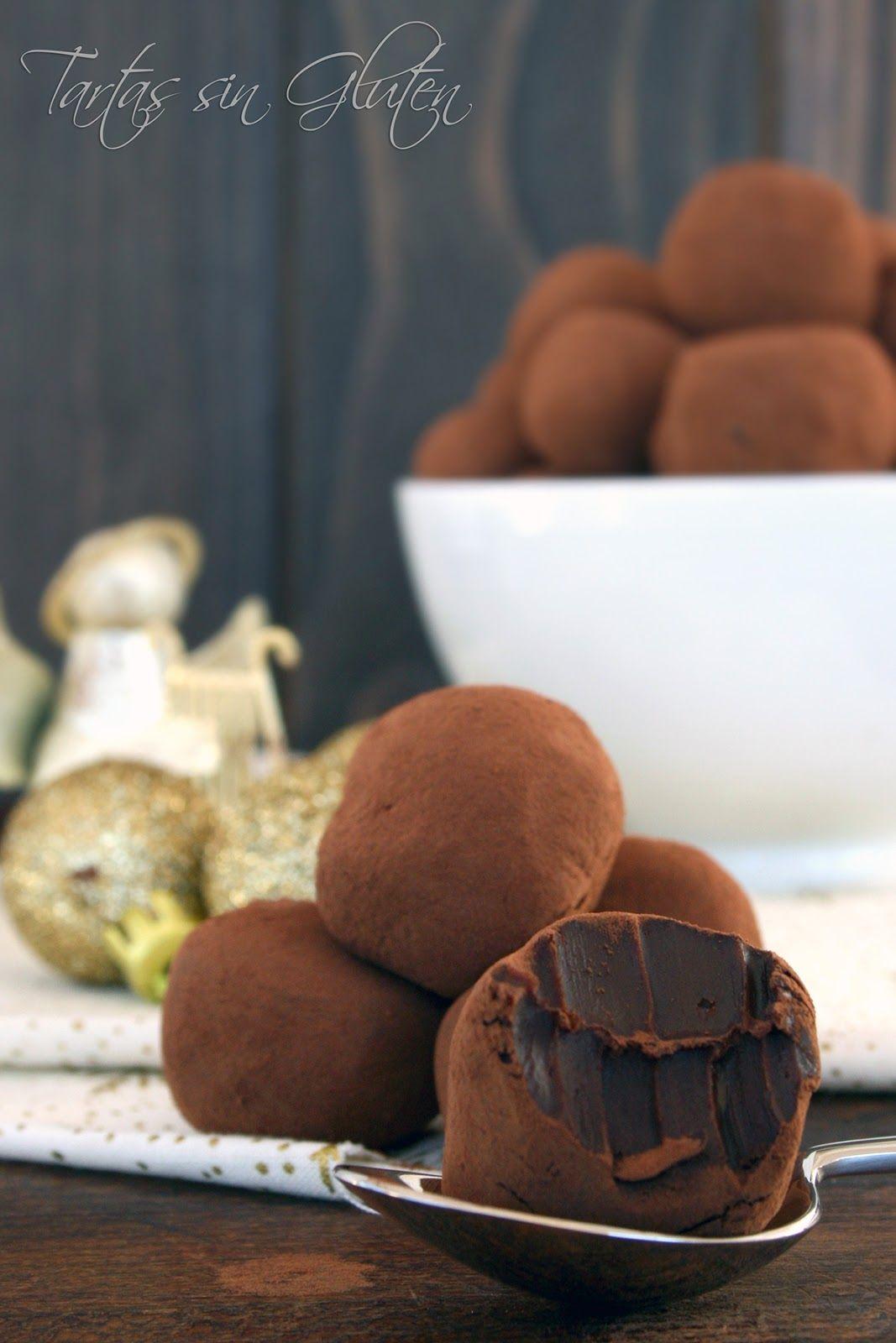 Tartas sin Gluten .....365 dias sin gluten: Trufas de Nutella ...