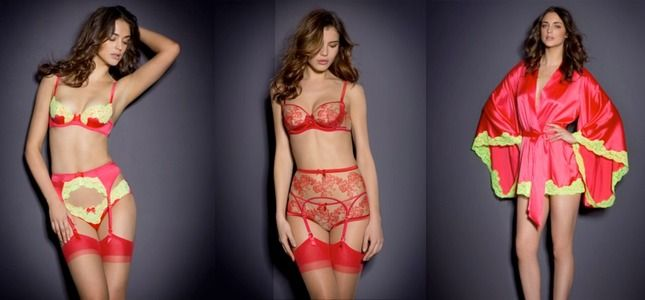Agent Provocateur takes bright coloured lingerie to the next level