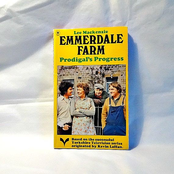 A vintage Emmerdale Farm paperback novel  | British TV and