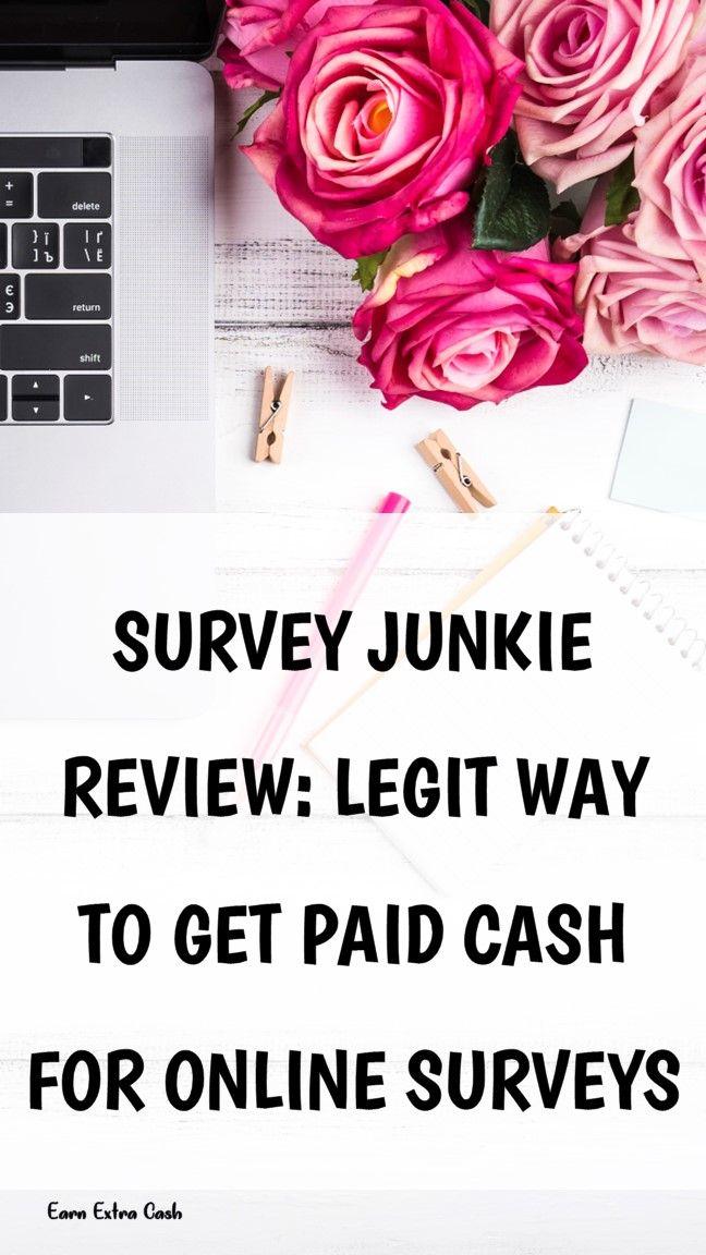 Survey Junkie Review Legit Way To Get Paid Cash For