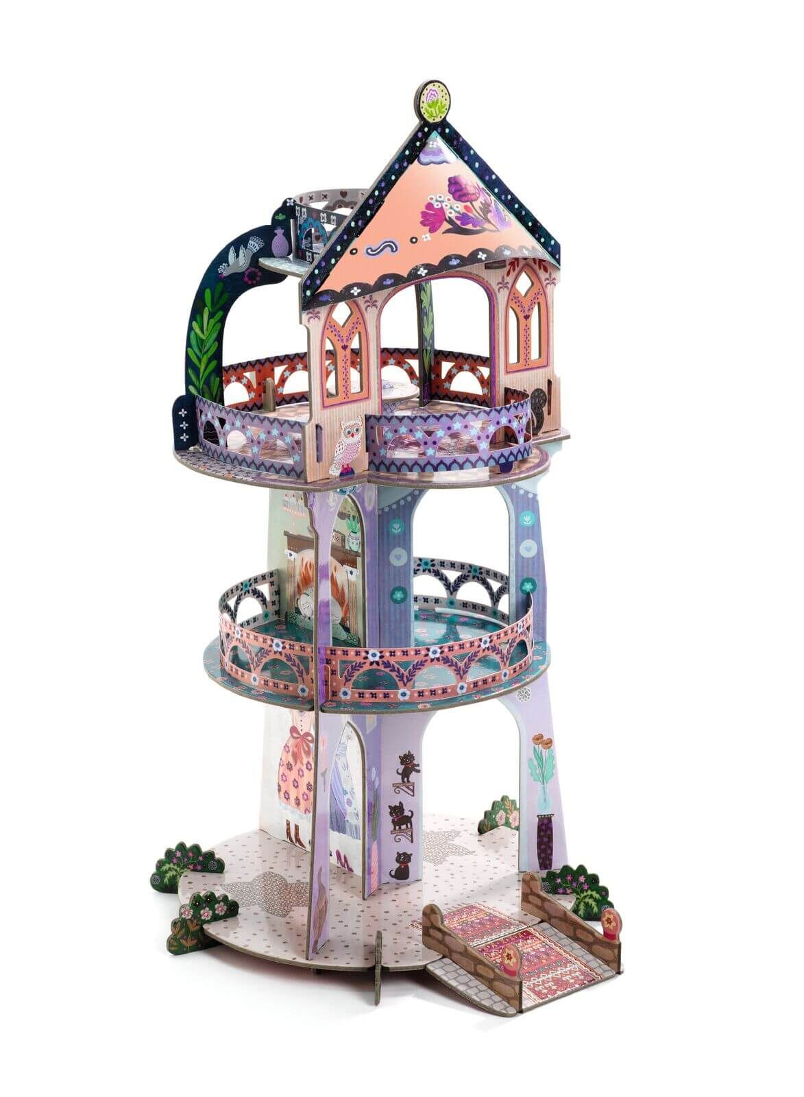Djeco pop to play Tower of wonders Wooden toy shop, Pop