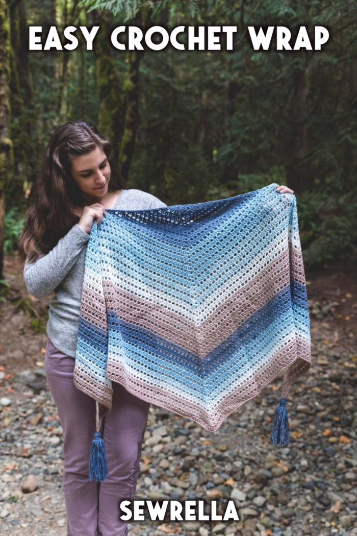 Photo of Easy Crochet Wrap – free pattern
