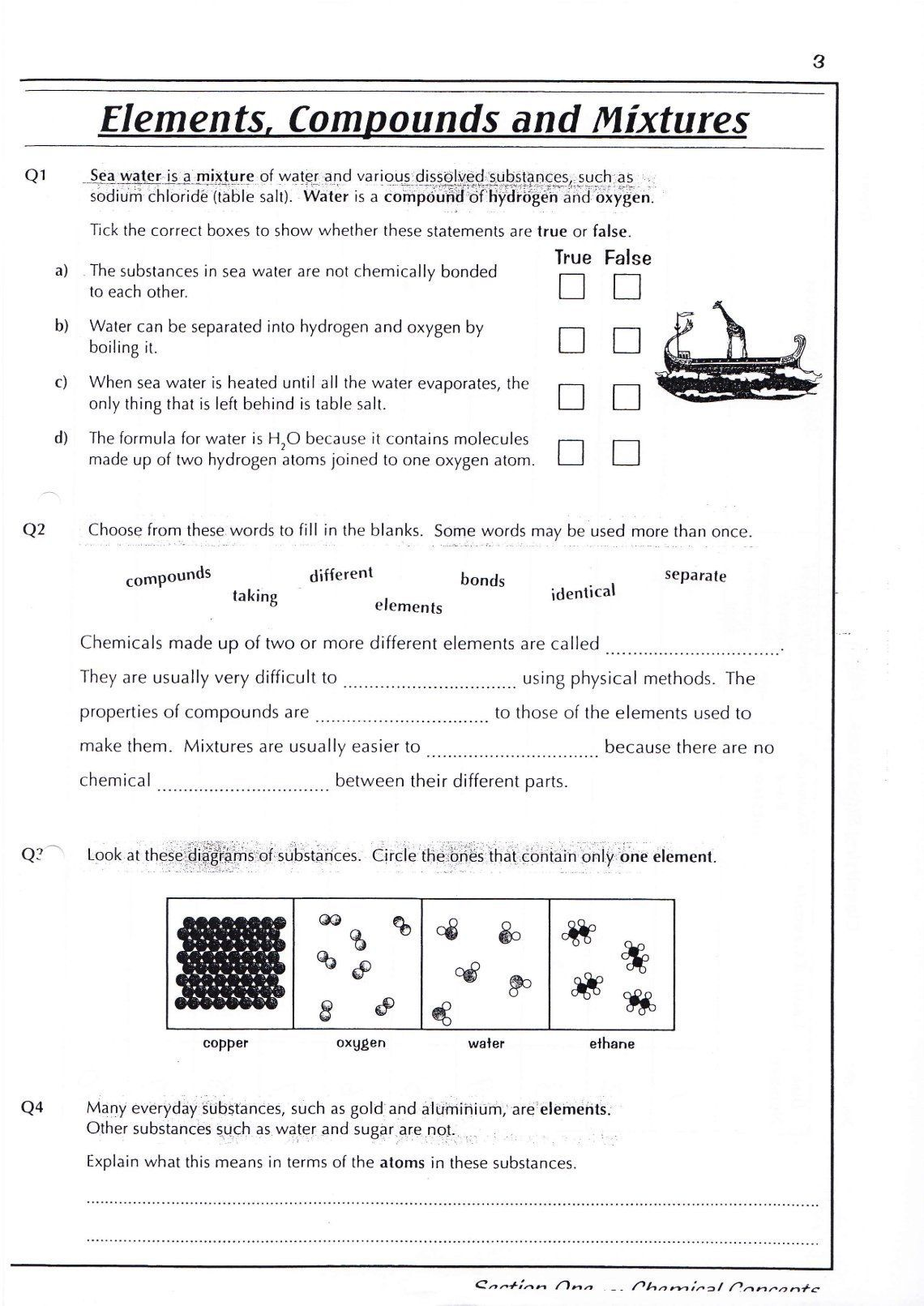 How To Count Atoms Worksheet 100 Counting Atoms