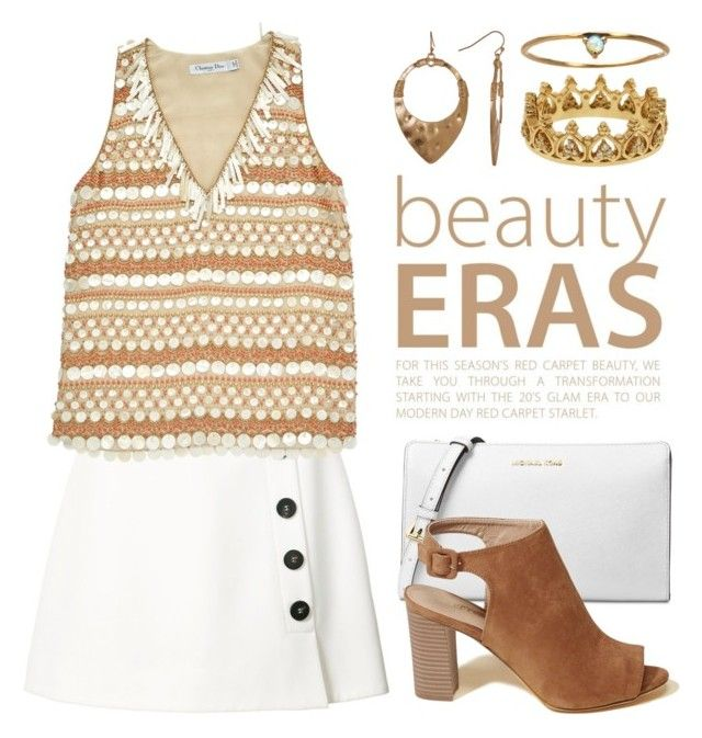 """""""White &....................??? 3788"""" by boxthoughts ❤ liked on Polyvore featuring Misha Nonoo, Christian Dior, Michael Kors, Hollister Co., Melrose & Market, WWAKE and Eternally Haute"""