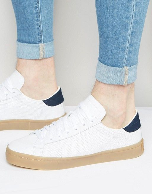 adidas court vantage bianche pelle