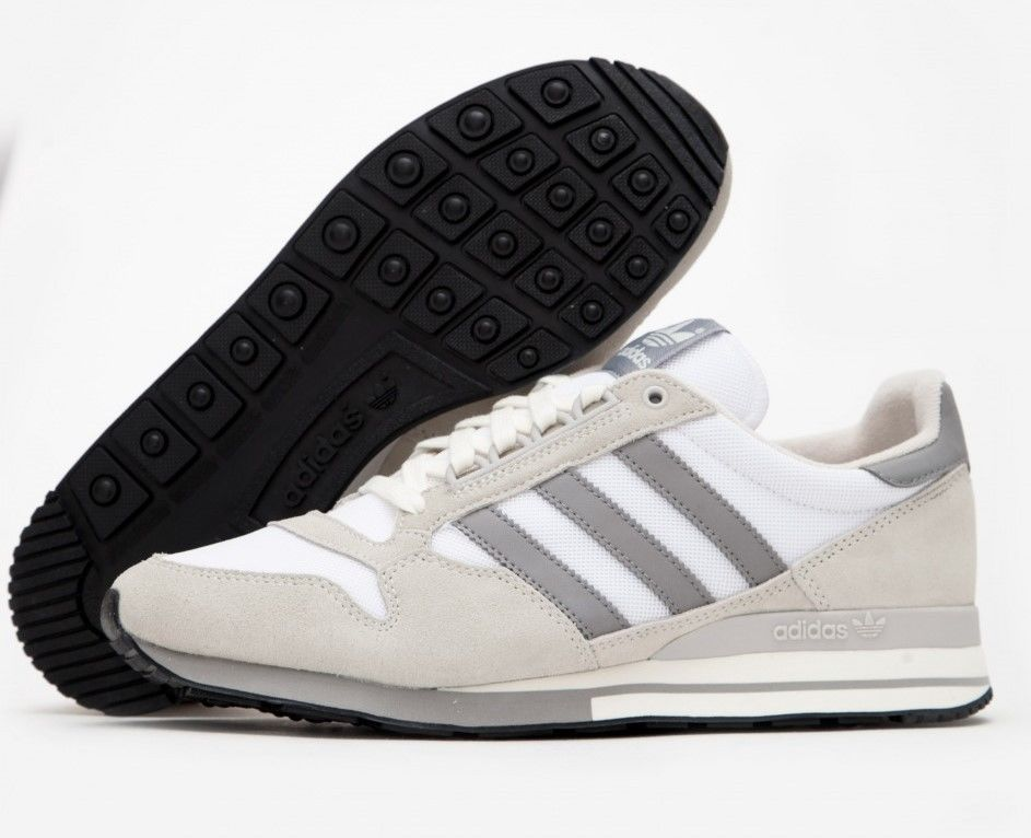 774e83599 New Adidas Originals ZX 500 OG Running Trainers Off White Ivory S79178 Size  10.5