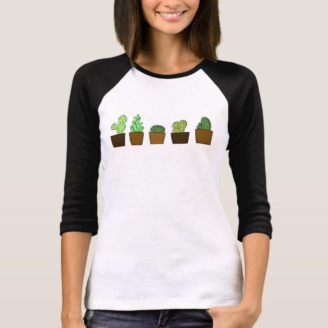 Womens Cacti Garden 34 Shirt