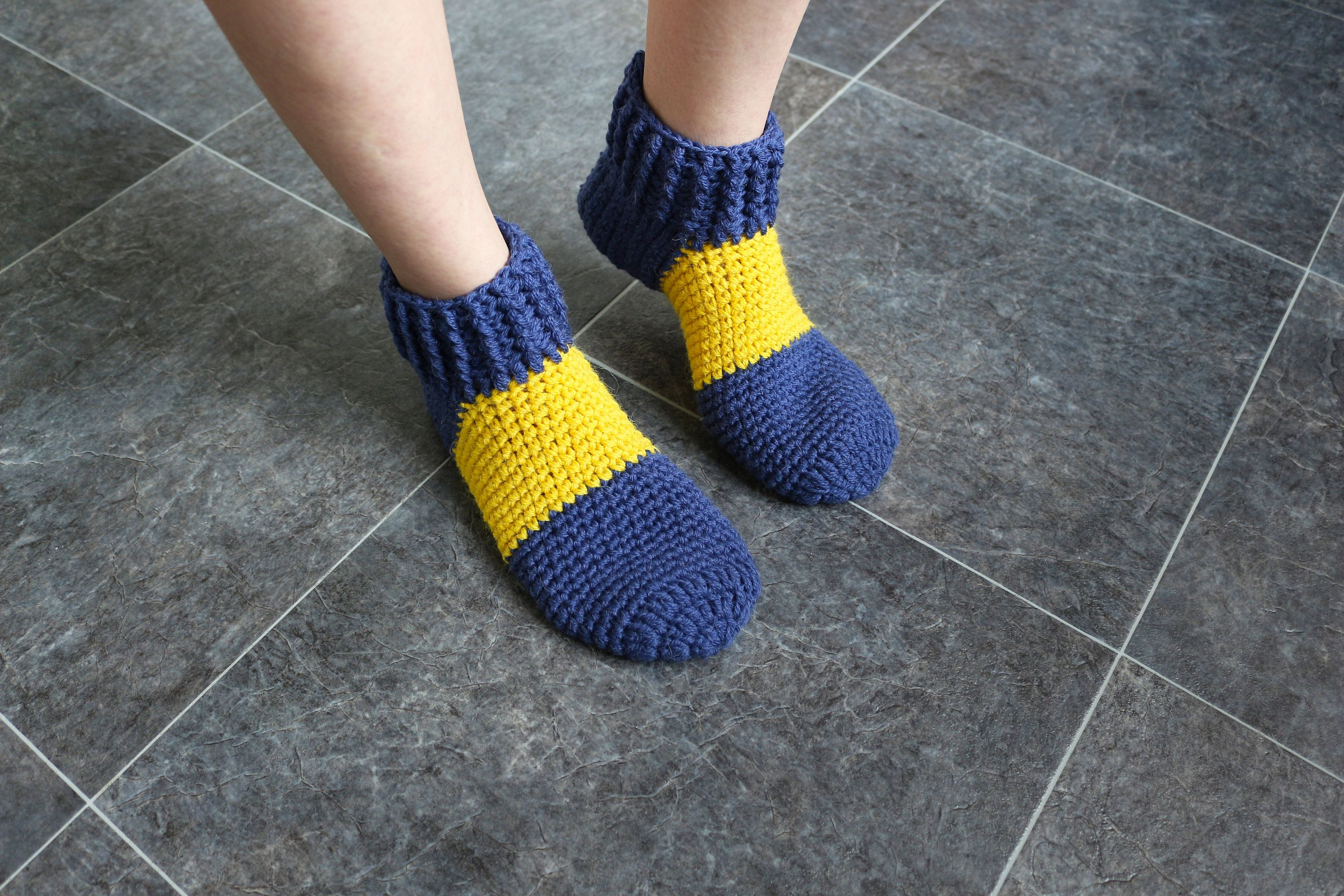 77a7c07be97 Adult booties Crochet slippers Pure wool Ladies slippers Knit wool socks  Yellow slippers Blue booties Warm indoor slippers Hand knitted sock