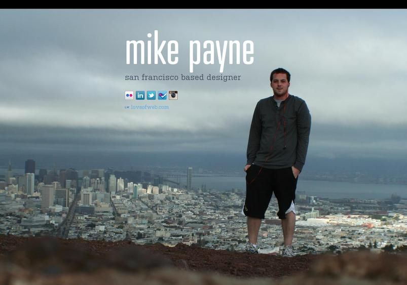 mike payne's page on about.me – http://about.me/mikepayne