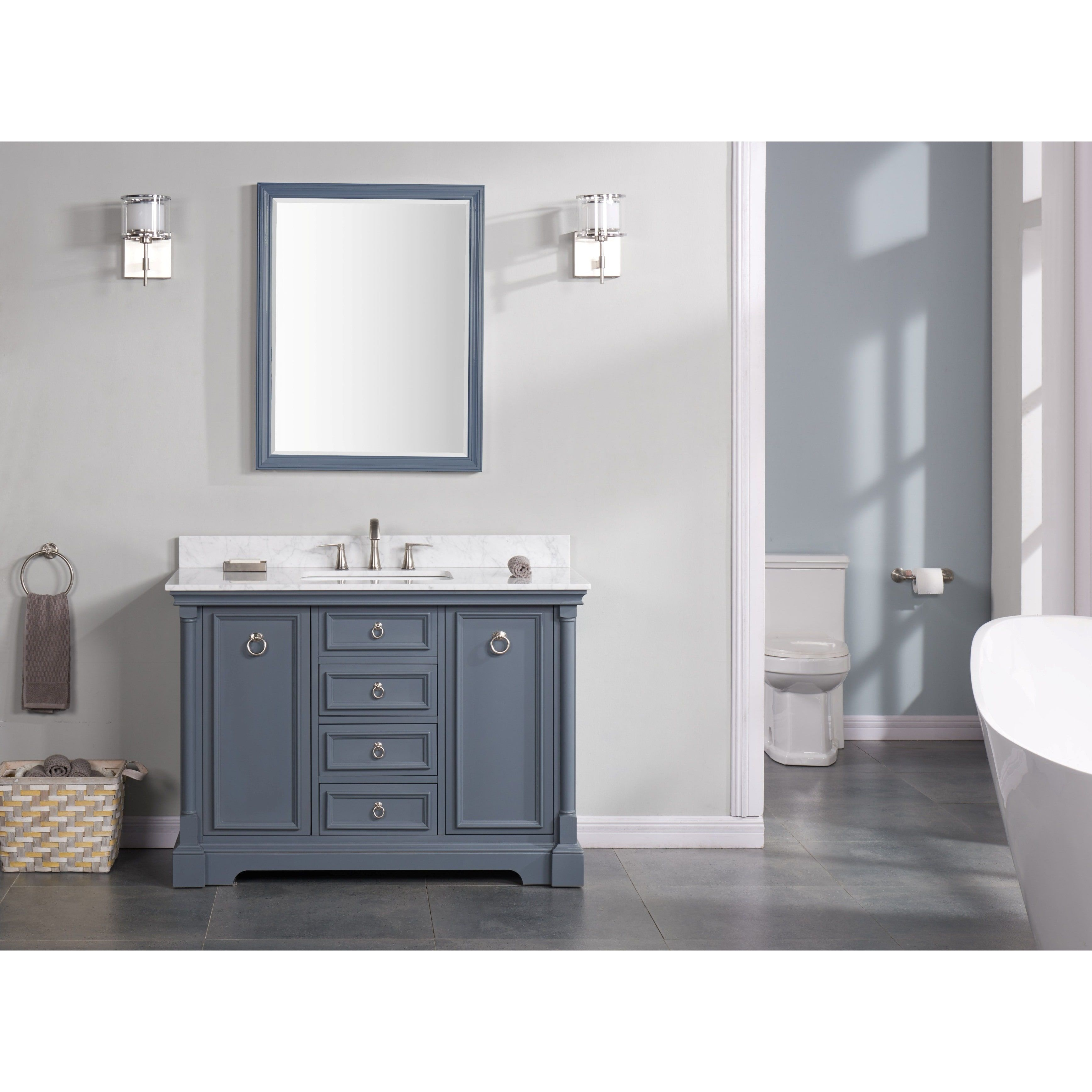 pdx bathroom home kbc bath nantucket improvement single vanity set kitchen collection reviews wayfair