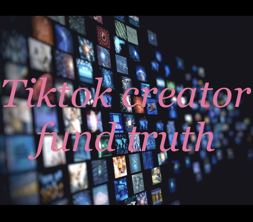 Tiktok Creator Fund The Creator About Me Blog Passion Project
