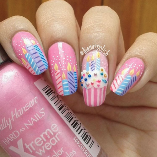 Nail Designs 2016/2017 – Pink NOTW inspiration!