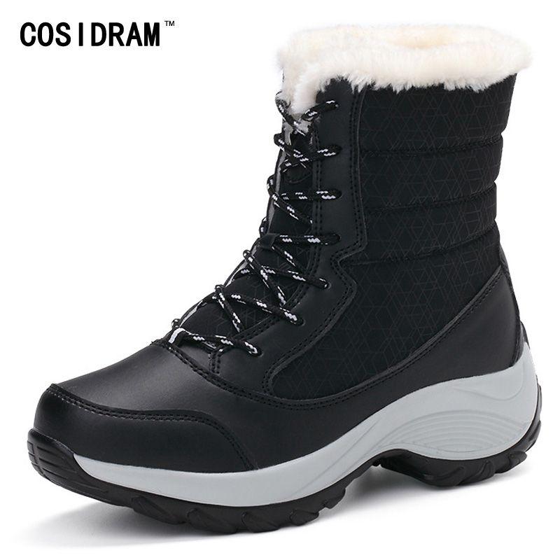 MIGO BABY Womens Winter Warm Outdoor Waterproof Snow Boots