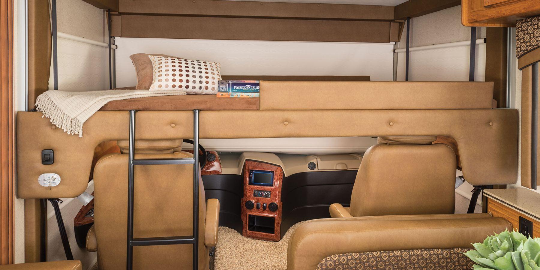 Overhead bunk option An overcab bunk option make the