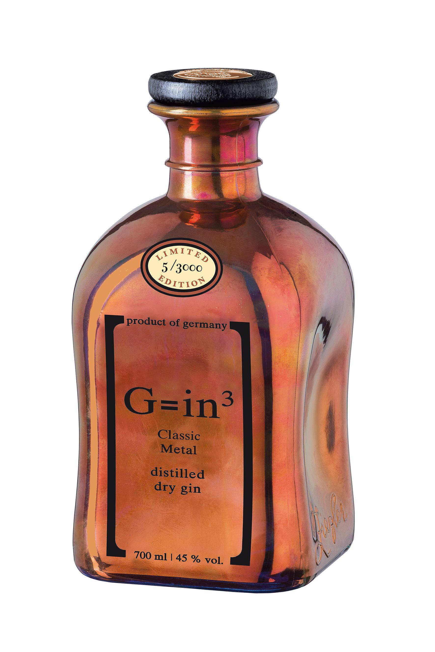 Ziegler Gin Classic Metal 0,7 Liter | kern-spirituosen.de | Liquor ...