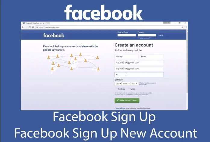 Welcome Facebook Log In Sign Up In 2020 Facebook Sign Up Signup