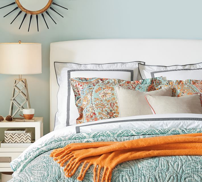 Cool Quilts For Summer Bedroom Colors Paisley Quilt