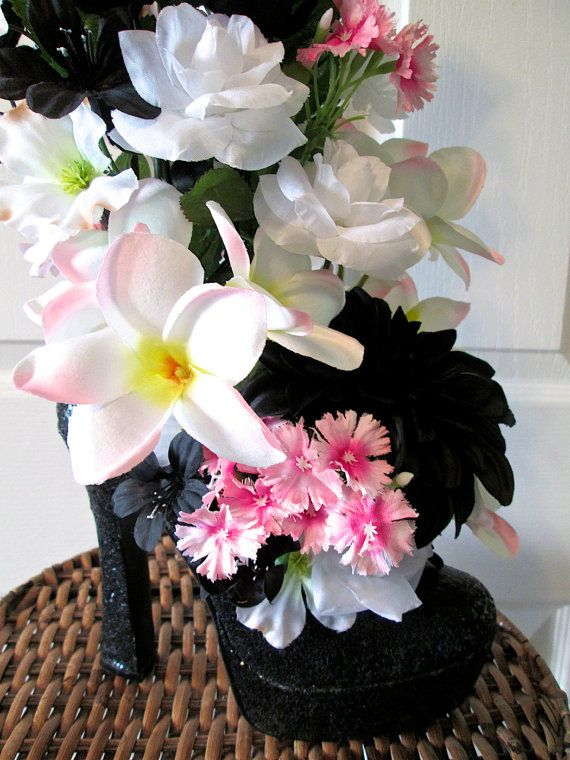 Silk flower arrangement with pink white and by alwaysinbloomfloral silk flower arrangement with pink white and by alwaysinbloomfloral mightylinksfo