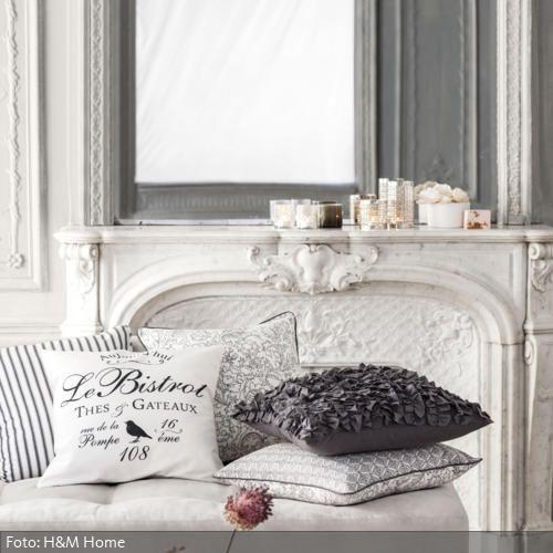 romantische kissen wohnen im shabby chic stil pinterest haus wohnen und dekoration. Black Bedroom Furniture Sets. Home Design Ideas