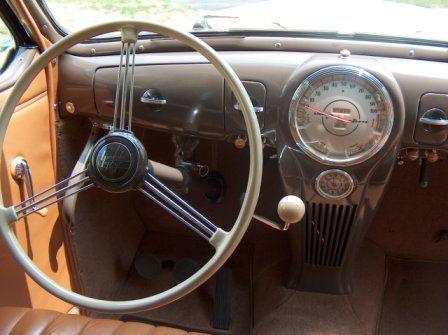 1939 Lincoln Custom Car Interior Custom Cars Dashboards