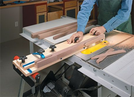 Taper Jig Woodsmith Plans In A Few Hours You Can Build An Adjustable Jig For Making A Wide Range Of Woodworking Joints Taper Jig Woodworking Projects Diy