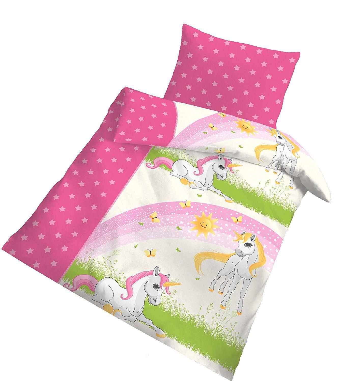 28 Einhorn Unicorn Ideen Kissenbezug 80x80 Einhorn Bettbezug