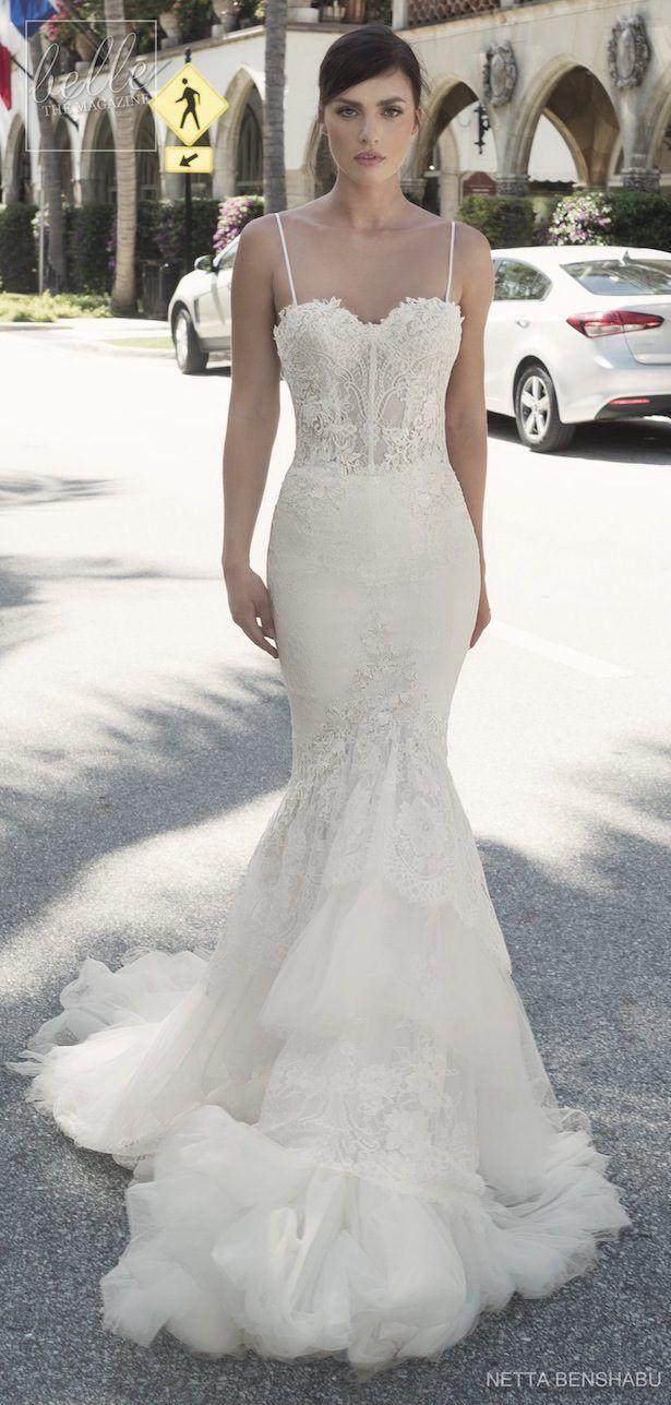 White short wedding dresses  Netta BenShabu   fancyrunway dresses  Pinterest  Wedding