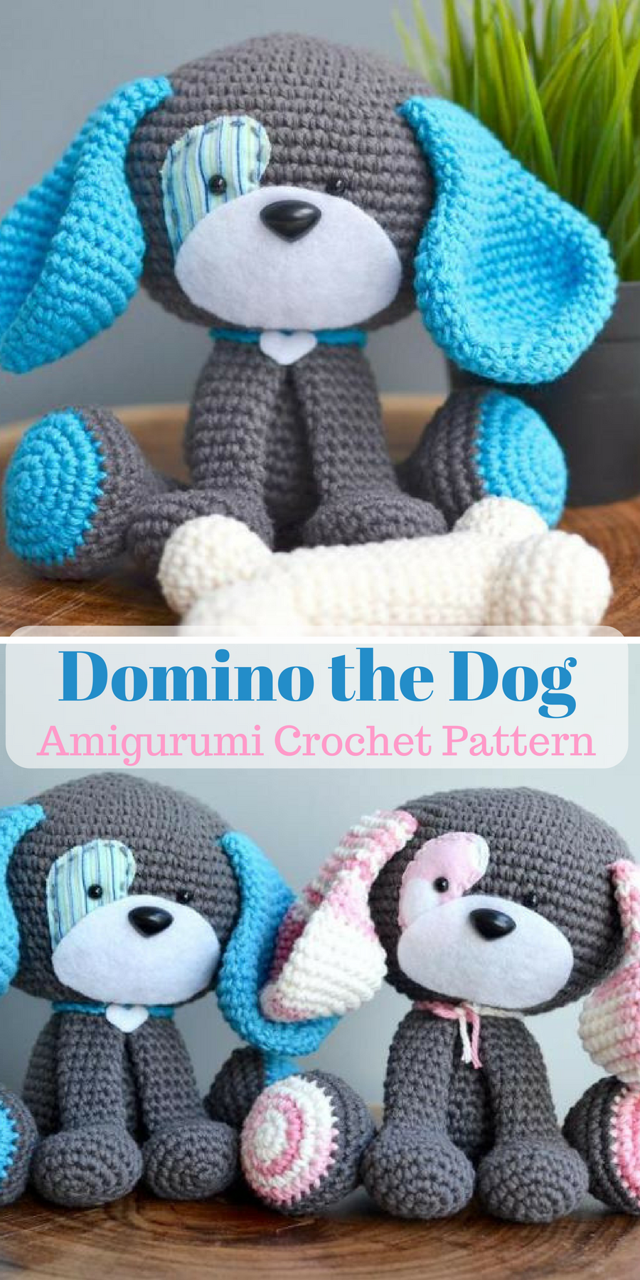 This cute dog crochet pattern is the perfect amigurumi project for ...