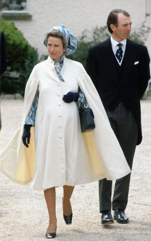 Princess Anne Eared Radiant In This Timeless Ensemble While Pregnant With Her Second Child Zara