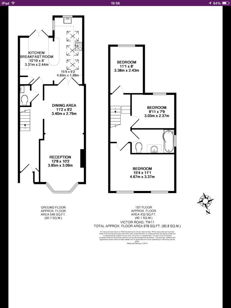 Option With Bathroom Upstairs Victorian Terrace House Terrace House House Extension Plans